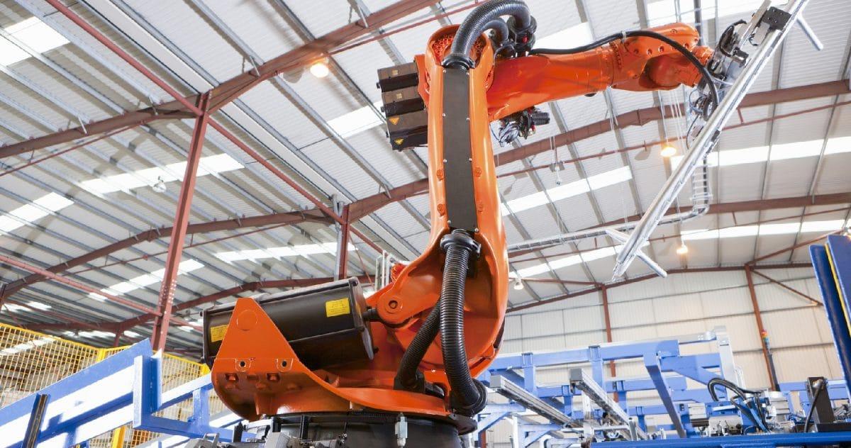 tay robot công nghiệp